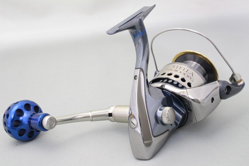 Shimano stella sw 8000 pg spinning reel ebay for Stella fishing reel