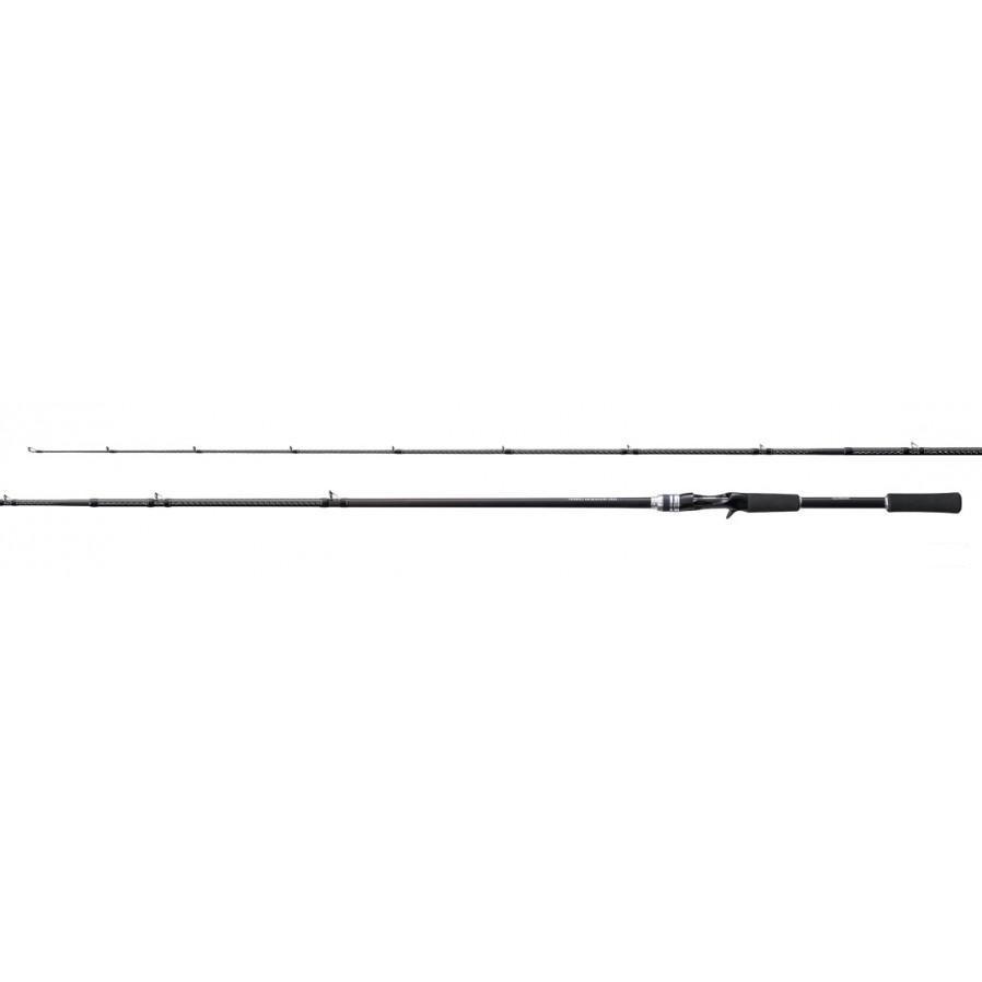 Shimano dura Rocker BB B76M Baitcasting Rod de Japón