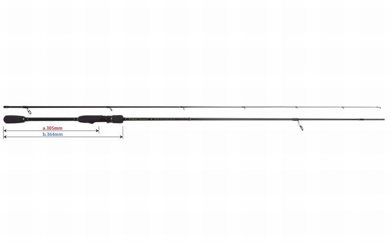 YAMAGA Blanks bluee Current TZ 76 TZ Spinning Rod from Japan